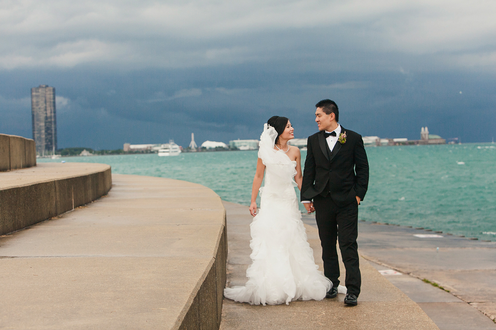 Icy and Mike's Intercontinental Chicago Wedding