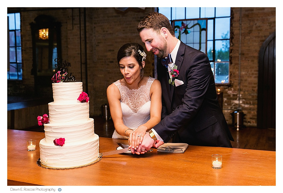 Chicago Illuminating Company Wedding