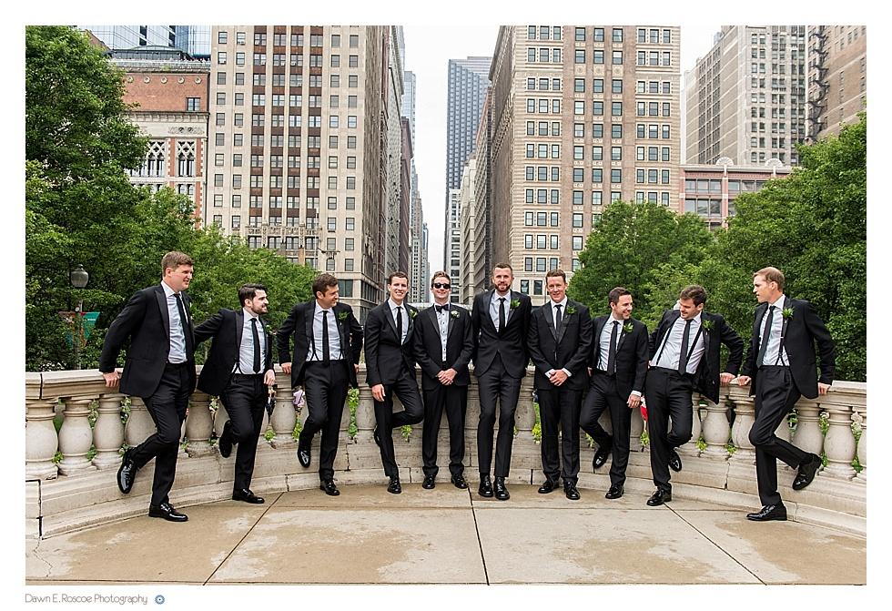 Chicago Athletic Association wedding