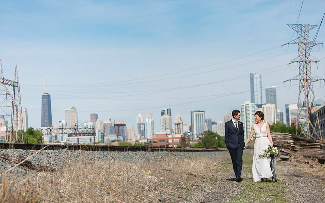 Ashlee and Mike's Ignite Studios Chicago Wedding!