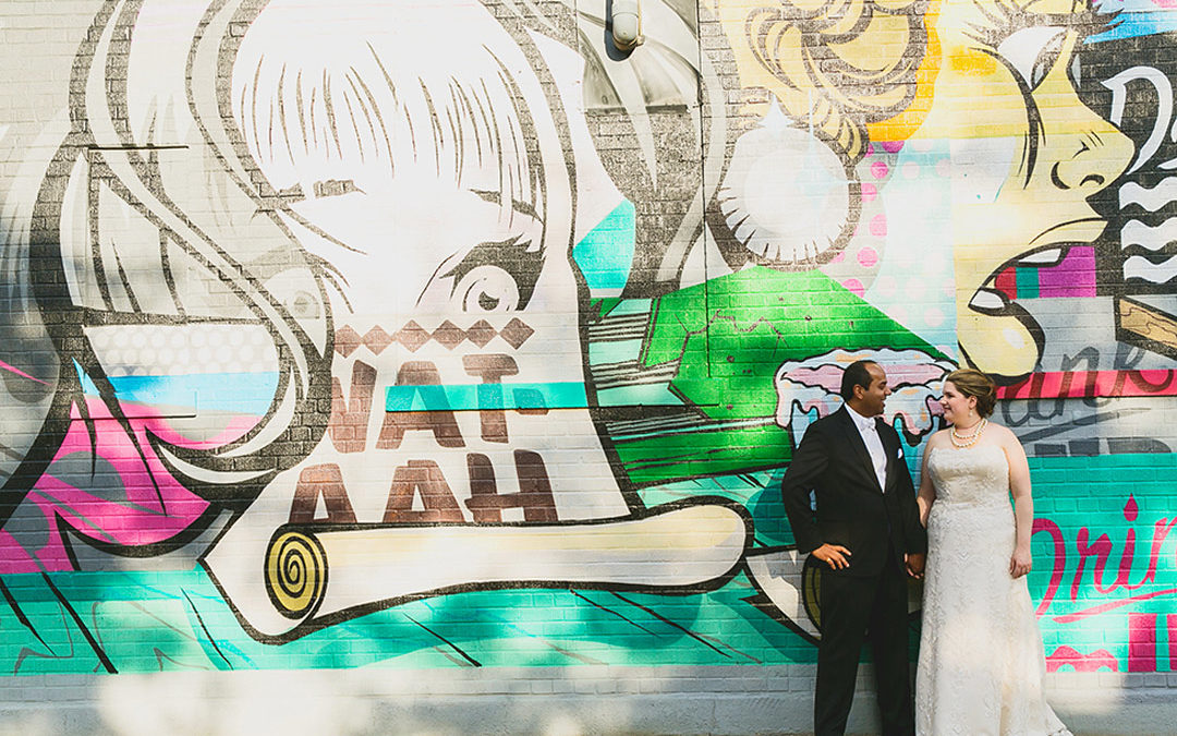 Vanessa and Tom's Floating World Gallery Wedding!