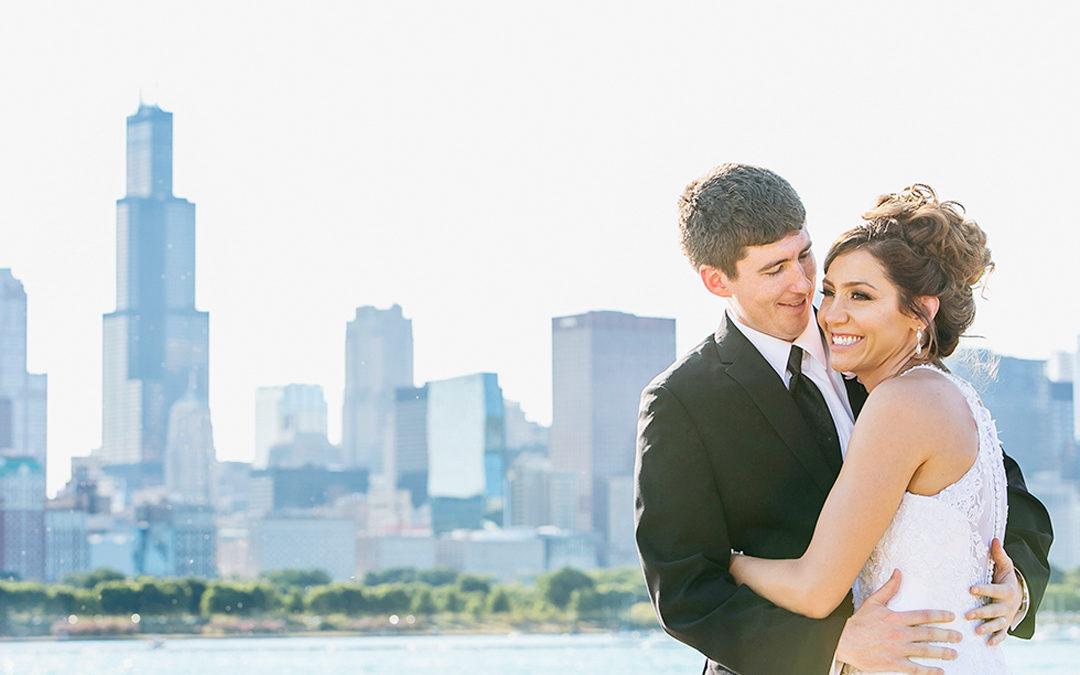 Tessa and Michael's Intercontinental Chicago Wedding!