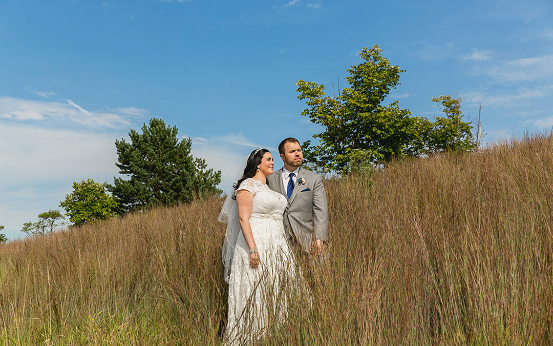 Sara and Nick's Color-Infused Wedding!