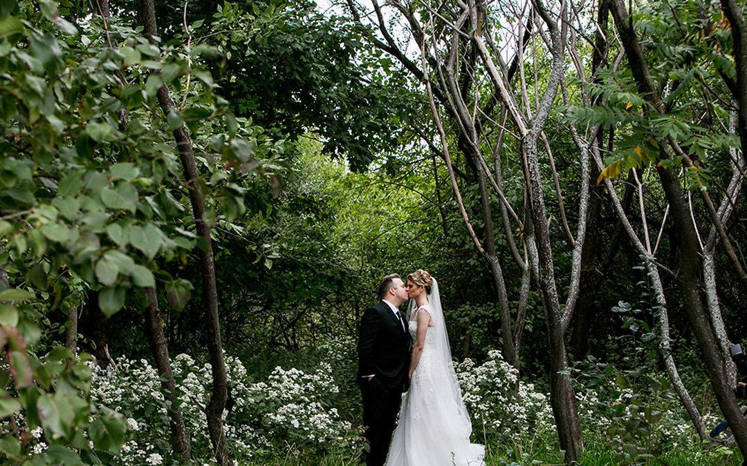 Brittany and Josh's Dank Haus Wedding