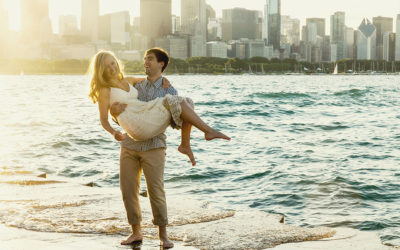 Chicago Lakefront and Lily Pond Engagement!
