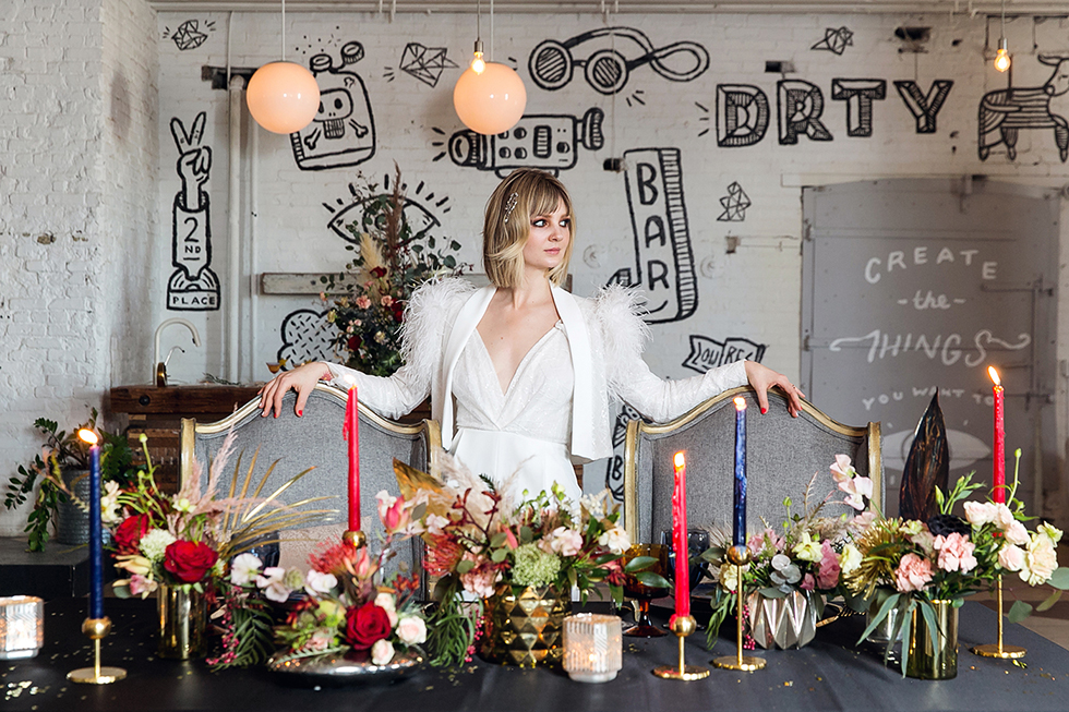 Ziggy Stardust Wedding Styled Shoot!
