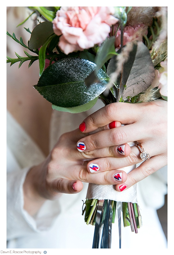 Ziggy Stardust Wedding Styled Shoot